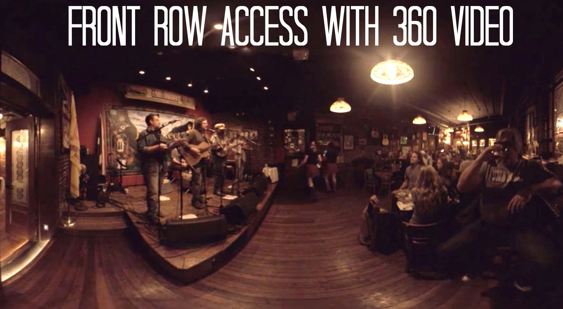 VIP Front Row Access with 360 Video
